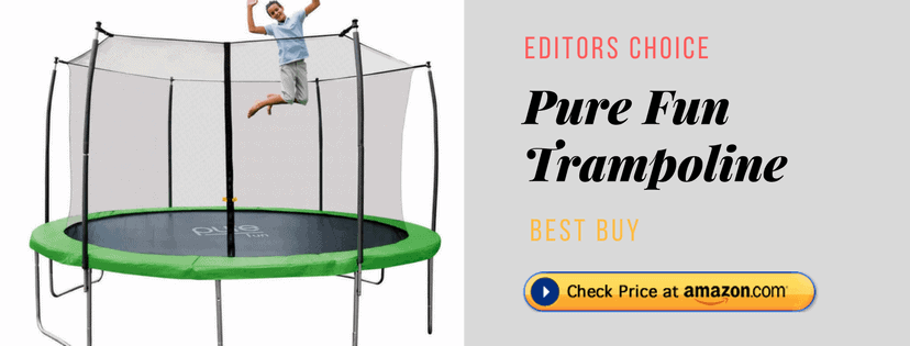 Pure Fun Trampoline Reviews